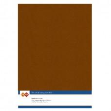 Linen A4 Card - Brown