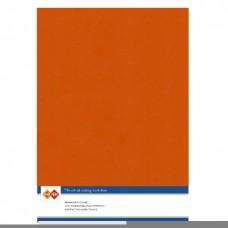 Linen A4 Card- Autumn Orange