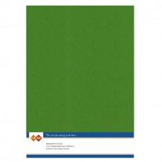 Linen A4 Card - Fern Green