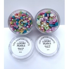 Lisa Horton Crafts - Set of 4mm and 6mm AB Pearls