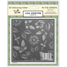 Lisa Horton Crafts - 3D Embossing Folder - In the Garden