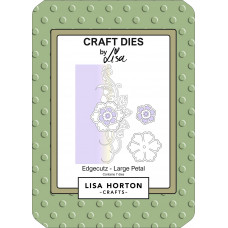 Lisa Horton Crafts - EdgeCutz Large Petal Die Set - DISPATCHING WEDNESDAY 21st APRIL