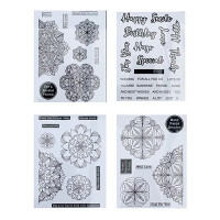 Lisa Horton Crafts - Mandala Stamp Bundle - DISPATCHING THURSDAY 15th APRIL