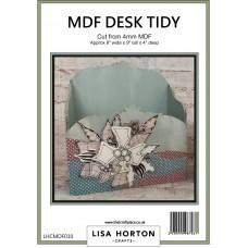 Lisa Horton Crafts - MDF Desk Tidy and Pencil Pot