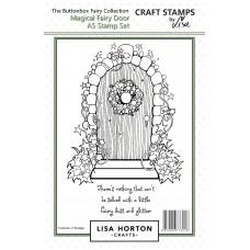 Lisa Horton Crafts - Buttonbox Fairies - Magical Fairy Door