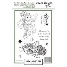 Lisa Horton Crafts - Buttonbox Fairies - Never Lose your Sparkle
