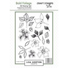 Lisa Horton Crafts - Bold Foliage A4 Stamp Set