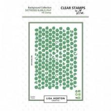 Lisa Horton Crafts - Distressed Bubblewrap A6 Stamp Set
