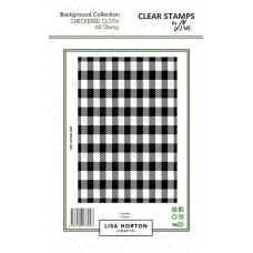 Lisa Horton Crafts - Checkered Cloth A6 Stamp Set