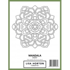 Lisa Horton Crafts - Mandala Doily Stencil
