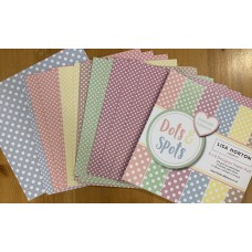 Lisa Horton Crafts - Dots and Spots Pastel 6x6 Paper Pad