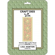 Lisa Horton Crafts - Slimline Bee-autiful Panel Die Set