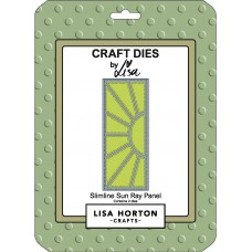 Lisa Horton Crafts - Slimline Sun Ray Panel Die Set