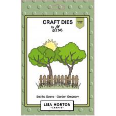 Lisa Horton Crafts - Set the Scene - Garden Greenery Die Set
