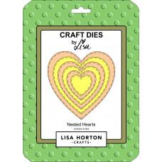 Lisa Horton Crafts - Nested Hearts Die Set