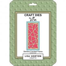Lisa Horton Crafts - Slimline Cracked Frame Die Set