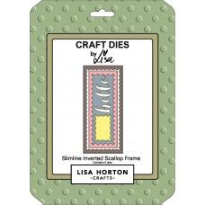 Lisa Horton Crafts - Slimline Inverted Scallop Frame Die Set
