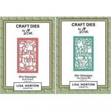 Lisa Horton Crafts - Mini Messages Bundle