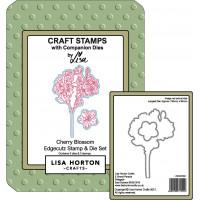 Lisa Horton Crafts - Cherry Blossom EdgeCutz Stamp and Die Set