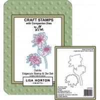 Lisa Horton Crafts - Dahlia EdgeCutz Stamp and Die set