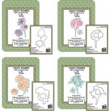 Lisa Horton Crafts - Floral Edgecutz Stamp and Die Bundle