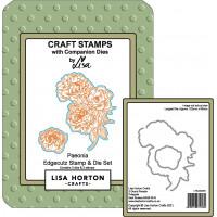 Lisa Horton Crafts - Paeonia EdgeCutz Stamp and Die Set