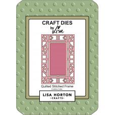 Lisa Horton Crafts - Quilted Stitched Frame Die Set