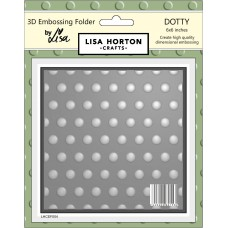 Lisa Horton Crafts - 3D Embossing Folder - Dotty