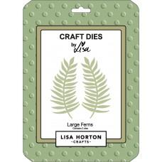 Lisa Horton Crafts - Large Ferns Die Set