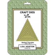 Lisa Horton Crafts - Nested Triangles Die Set - DISPATCHING WEDNESDAY 18th NOVEMBER