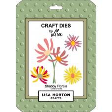 Lisa Horton Crafts - Shabby Florals Die Set