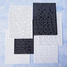 Lisa Horton Crafts - Foiled & Plain Sticker Sentiment Duo Pack