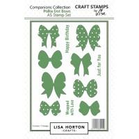 Lisa Horton Crafts - Polka Dot Bows Stamp Set