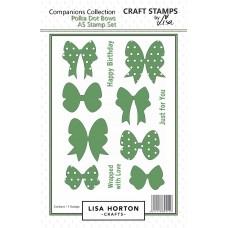 Lisa Horton Crafts - Polka Dot Bows Stamp Set - DISPATCHING WEDNESDAY 28th OCTOBER