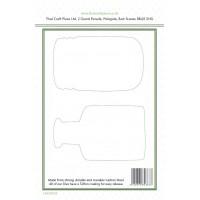 Lisa Horton Crafts - Floral Jar Stamp and Die Bundle