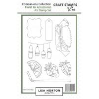 Lisa Horton Crafts - Floral Jar Accessories Stamp and Die Bundle