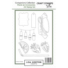 Lisa Horton Crafts - Floral Jar Accessories Stamp and Die Bundle