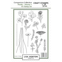 Lisa Horton Crafts - Florals Stamp and Die Bundle