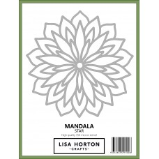 Lisa Horton Crafts - Mandala Star Stencil