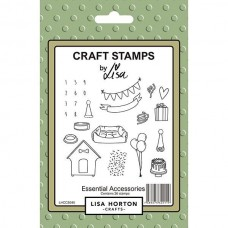 Lisa Horton Crafts - Essential Accessories Stamp Set