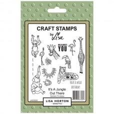 Lisa Horton Crafts - It's a Jungle Out There Stamp Set