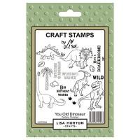 Lisa Horton Crafts - You Old Dinosaur Stamp Set