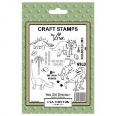 Lisa Horton Crafts - You Old Dinosaur Stamp Set