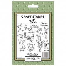 Lisa Horton Crafts - On the Farm Stamp Set