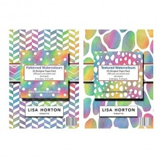 Lisa Horton Crafts - Set of 2 Watercolours A5 Paper Pads