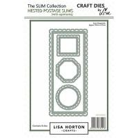 Lisa Horton Crafts - Postage Slims Die Set