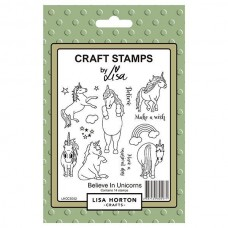 Lisa Horton Crafts - Believe in Unicorns Stamp Set