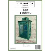 Lisa Horton Crafts - MDF Lantern