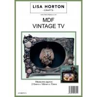 Lisa Horton Crafts - MDF Vintage TV