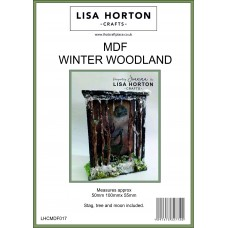 Lisa Horton Crafts - MDF Winter Woodland Scenes